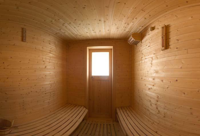 Finská sauna hotelu Excellent